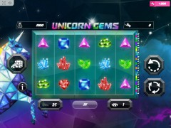 Unicorn Gems freeslots77.net MrSlotty 1/5